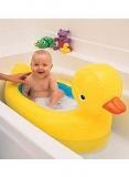 Munchkin White Hot™ Inflatable Safety Duck Bath - Boots - Munchkin White Hot™ Inflatable Duck Bath