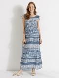 Vertbaudet - Long Printed Maternity Dress