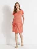 Vertbaudet - Linen Maternity Dress
