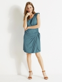 Vertbaudet - Adaptable Crossover Maternity & Nursing Dress