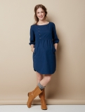 Vertbaudet - Denim Effect Maternity Dress