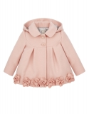 Monsoon - Monsoon BABY EVIE PINK ROSES COAT